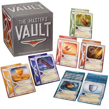 Tabletop RPG Item Cards
