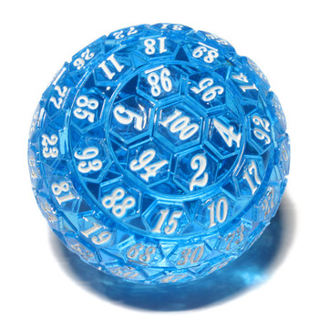 100-sided Dice - Blue