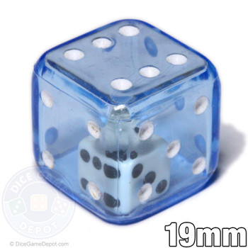 Blue double dice