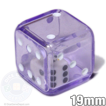 Purple double dice