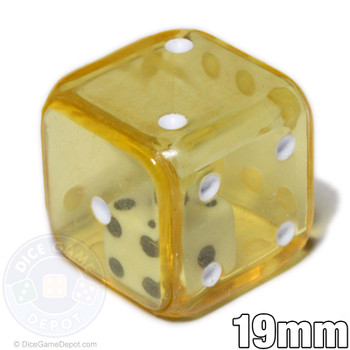 Yellow double dice