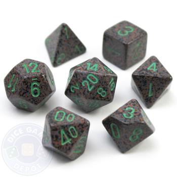 Elemental Earth D&D dice set