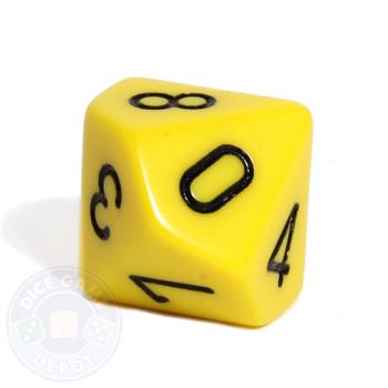 d10 - Yellow