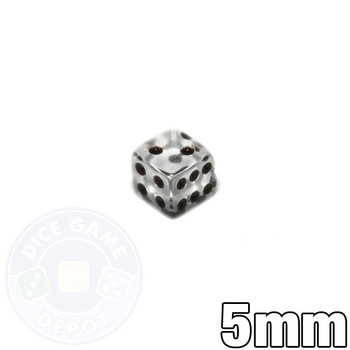 5mm transparent dice