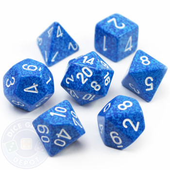 Elemental dice set - Water