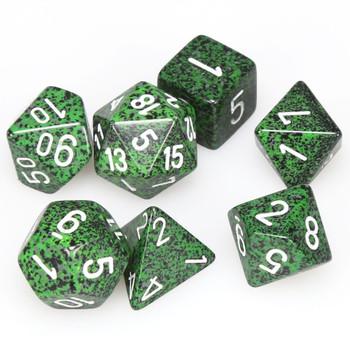 Recon Speckled D&D dice set