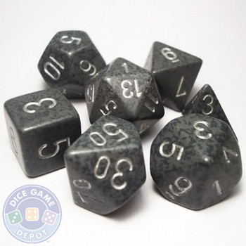 Polyhedral dice set - Hi-Tech