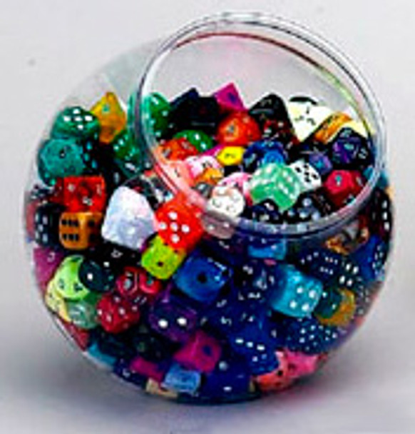 Big bowl of dice