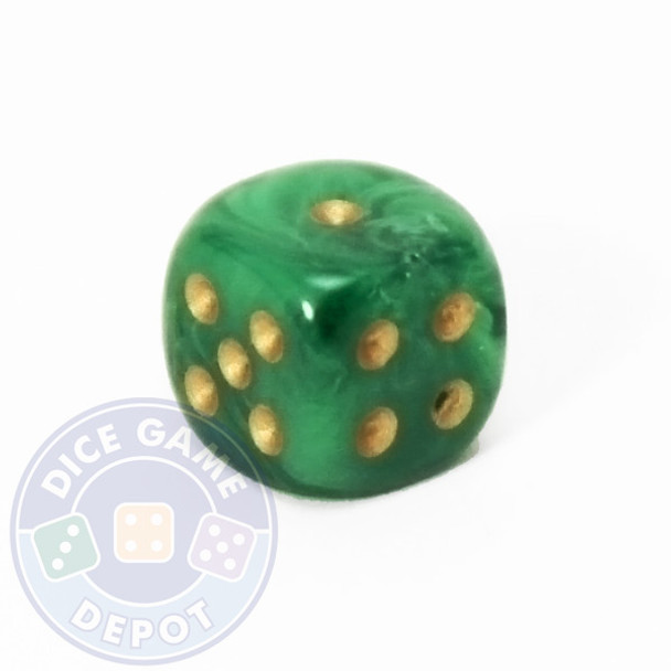 Vortex Dice - 12mm - Green