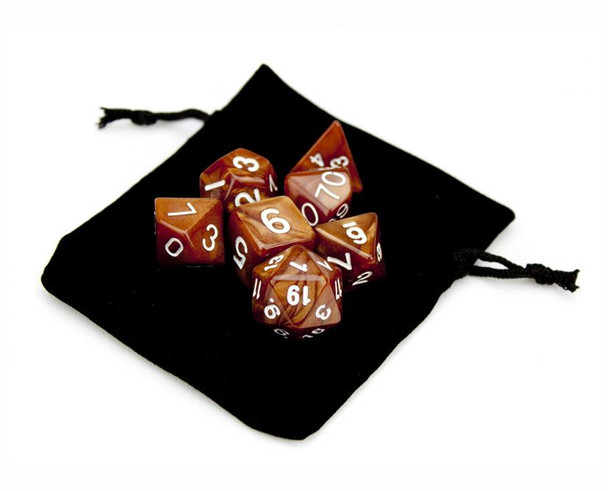 Copper Sands dice and pouch