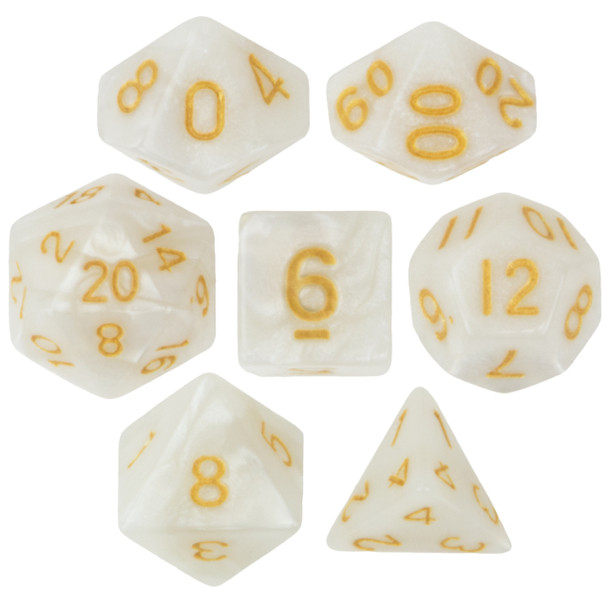 Forbidden Treasure dice set