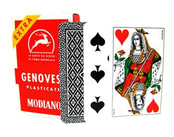 Italian playing cards - Genovesi