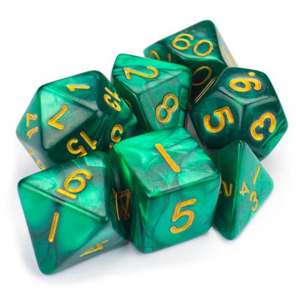 Basilisk Blood dice set