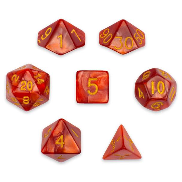 Dragon Scales dice set