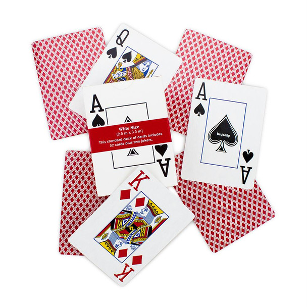 Brybelly red poker cards