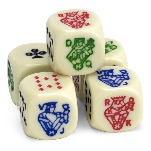 Poker dice - Set of 5