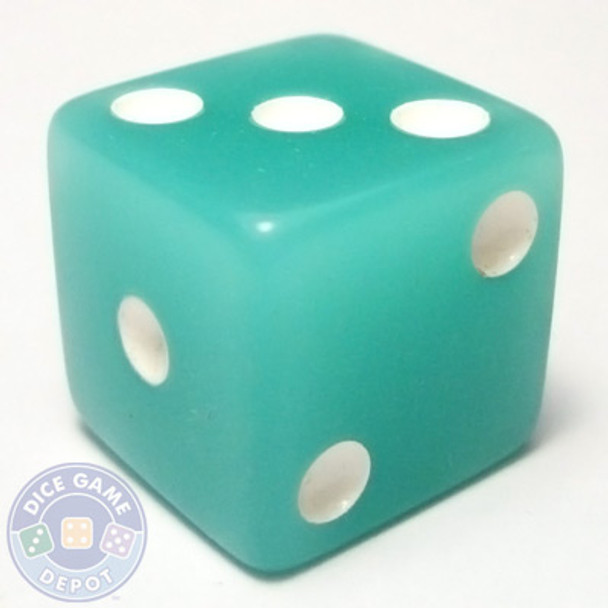 Glow in the Dark Dice - Blue-Green