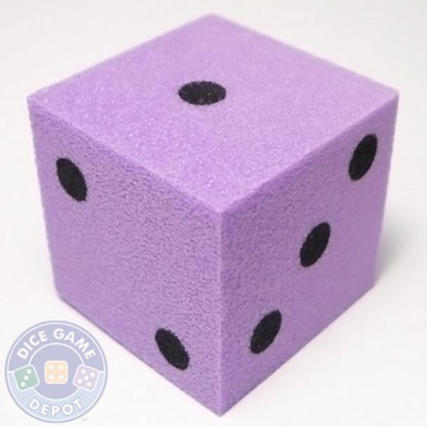 Foam Dice - 25mm - Violet