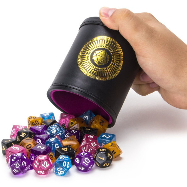 Cup of Wonder - Five Polyhedral Dice Sets