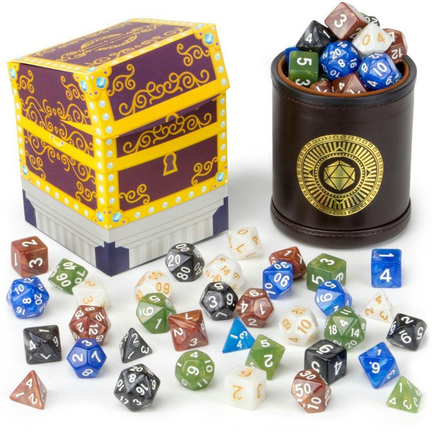 Cup of Plenty - Dice sets and cup