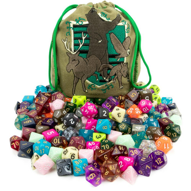 Bag of Tricks - 20 polyhedral dice sets