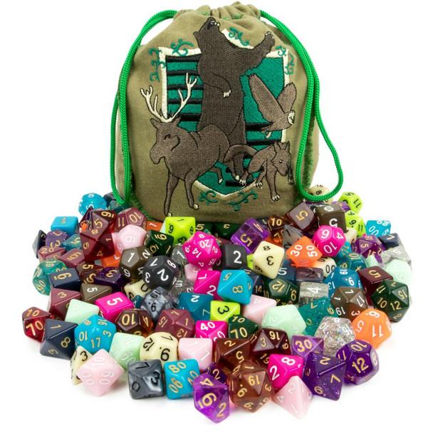 Bag of Tricks - 20 polyhedral dice sets
