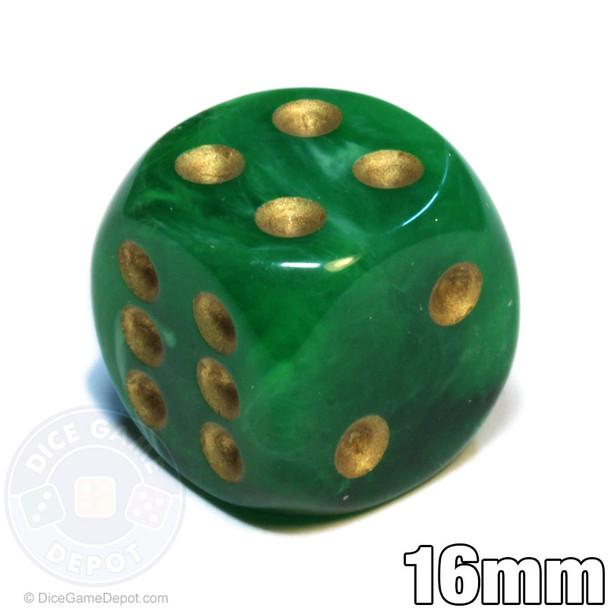 Vortex Dice - Green d6