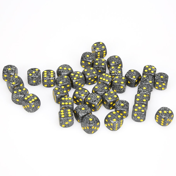 12mm Speckled Urban Camo d6s - Set of 36