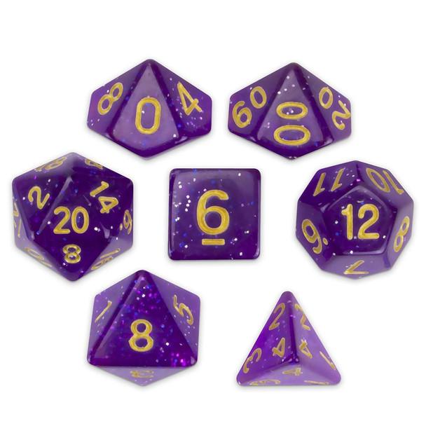 Midnight Nebula dice set