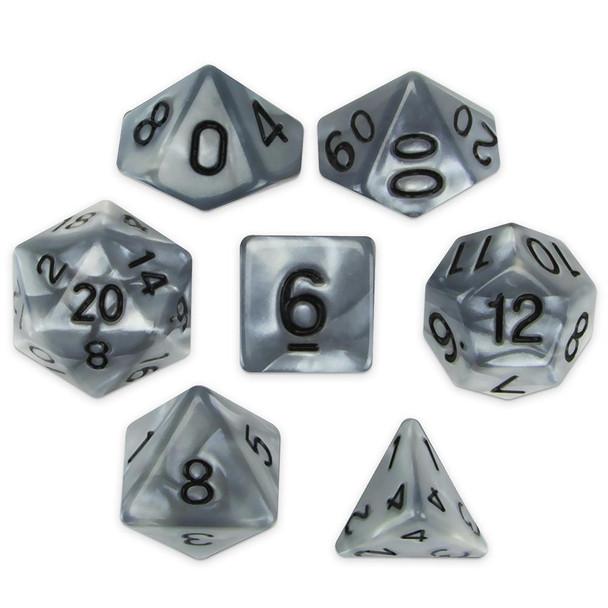 Quicksilver dice set