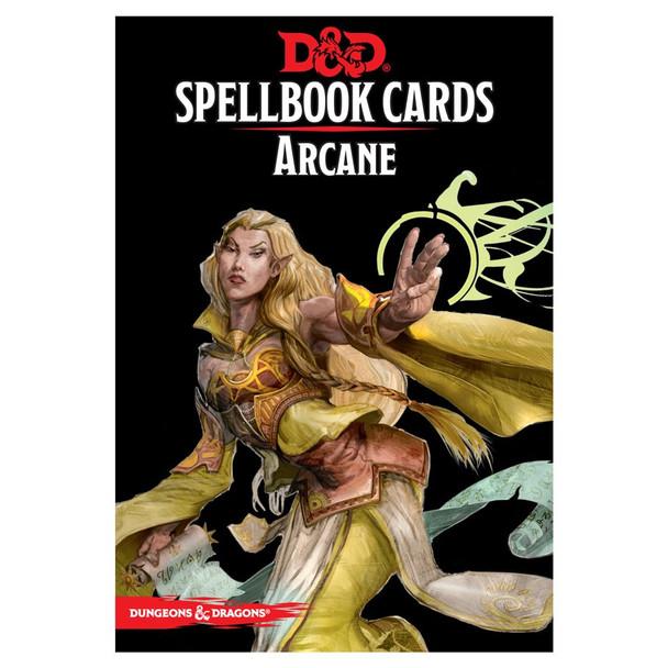 D&D Arcane Spellbook Cards