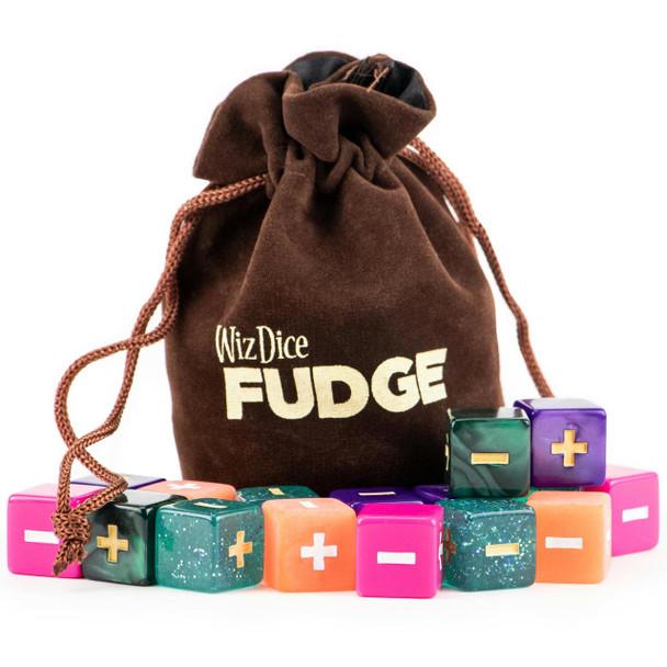 Fudge Dice Set - Mystical