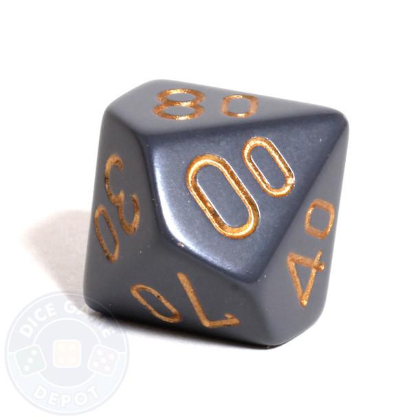 d10 percentile tens dice - Dark Gray