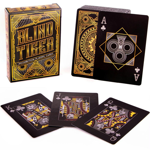 Blind Tiger Prohibition playing cards