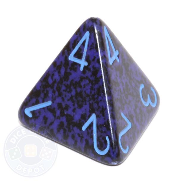 d4 - Speckled Cobalt