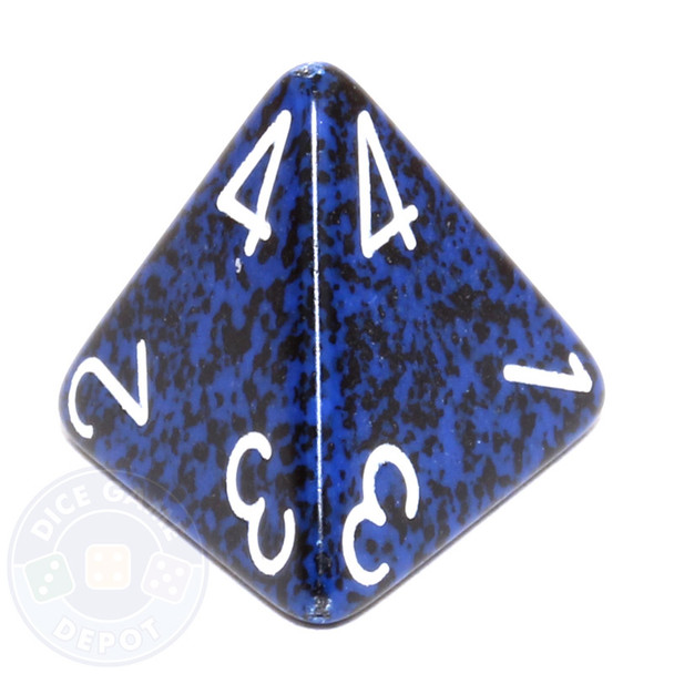 d4 - Speckled Stealth dice