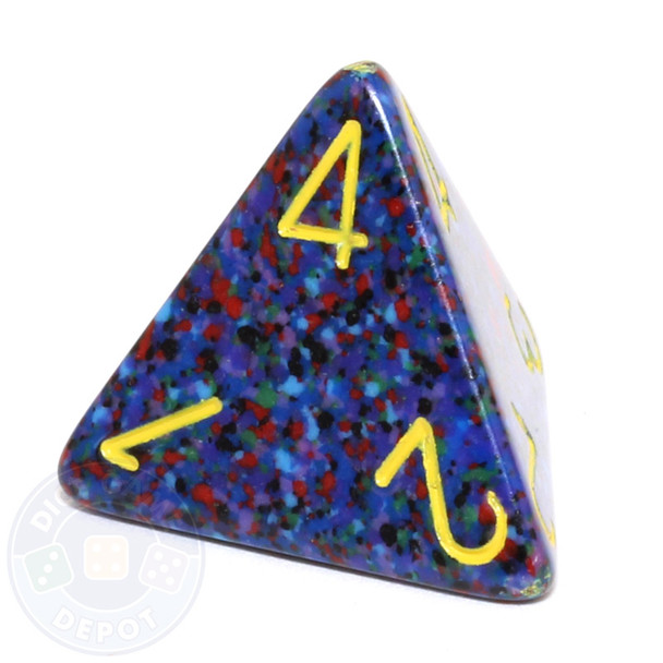 d4 - Speckled Twilight dice