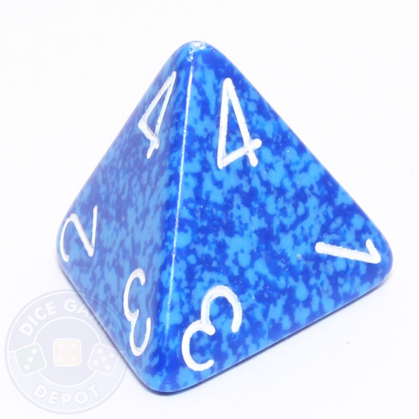 d4 - Speckled Water dice