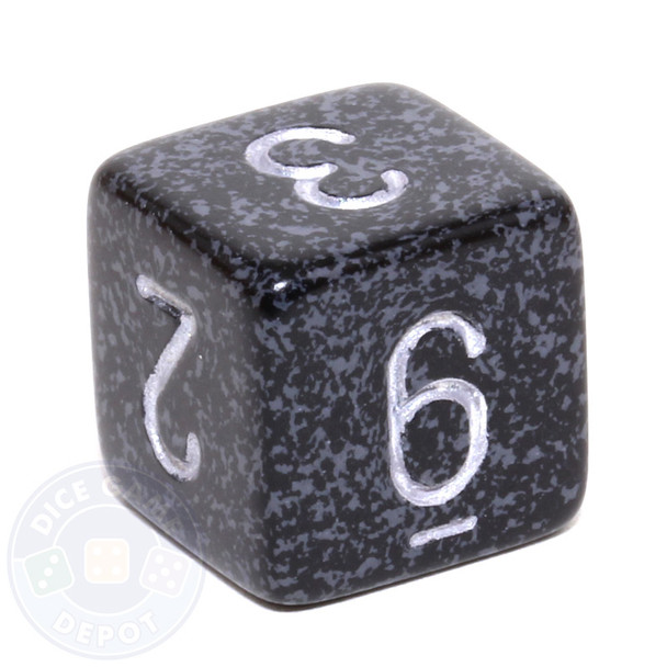 d6 - Speckled Ninja dice