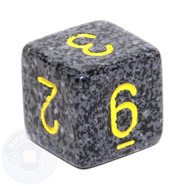 d6 - Speckled Urban Camo dice