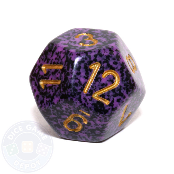 d12 - Speckled Hurricane 12-sided Dice