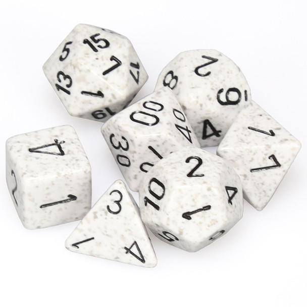 Speckled dice set - Arctic Camo
