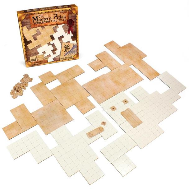 The Master's Atlas Worldbuilding Tiles