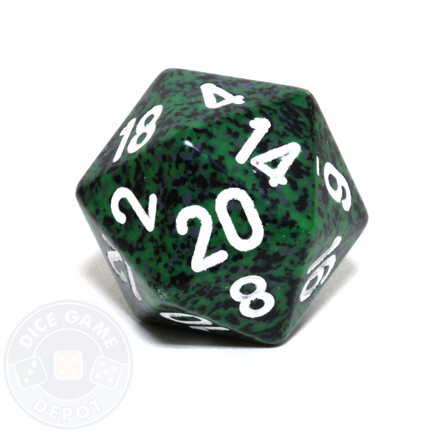 d20 - Speckled Recon 20-sided Dice