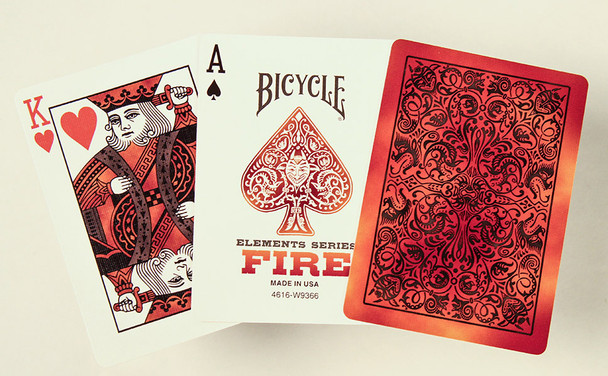 Bicycle cards - Fire deck
