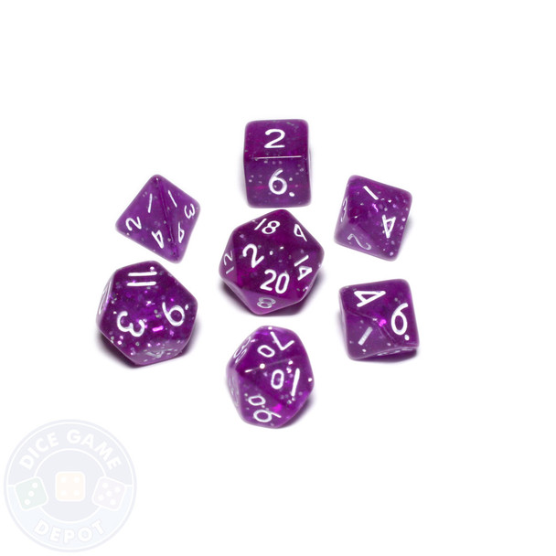 Mini dice set - Alchemical Elements - Butterfly Wing
