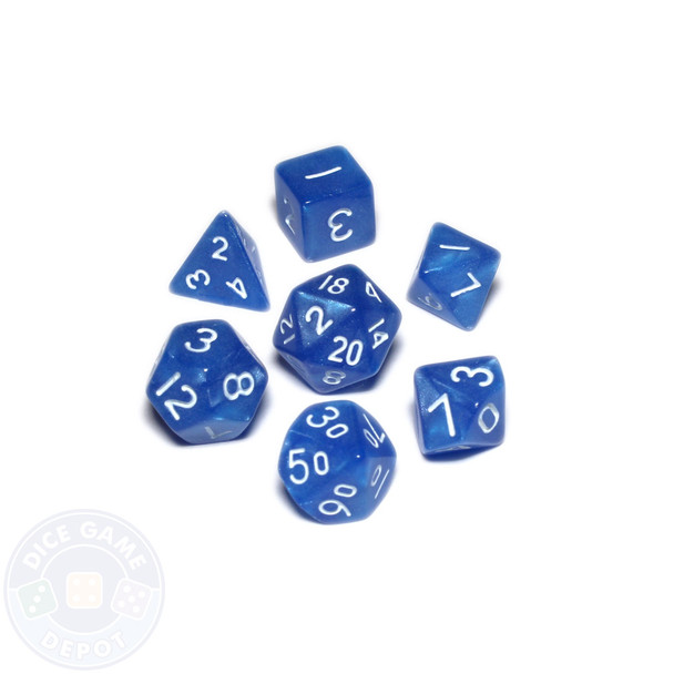 Mini dice set - Alchemical Elements - Celestial Shards