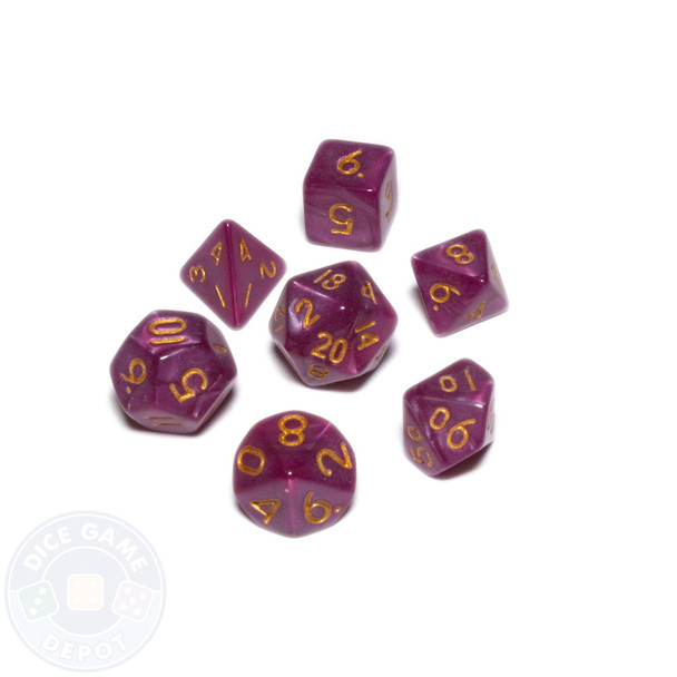 Mini dice set - Alchemical Elements - Wyvern Poison