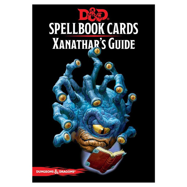 D&D Spellbook Cards: Xanathars Guide