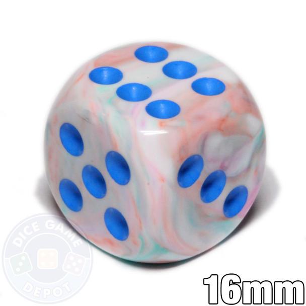 Pop Art 6-sided dice - Festive dice